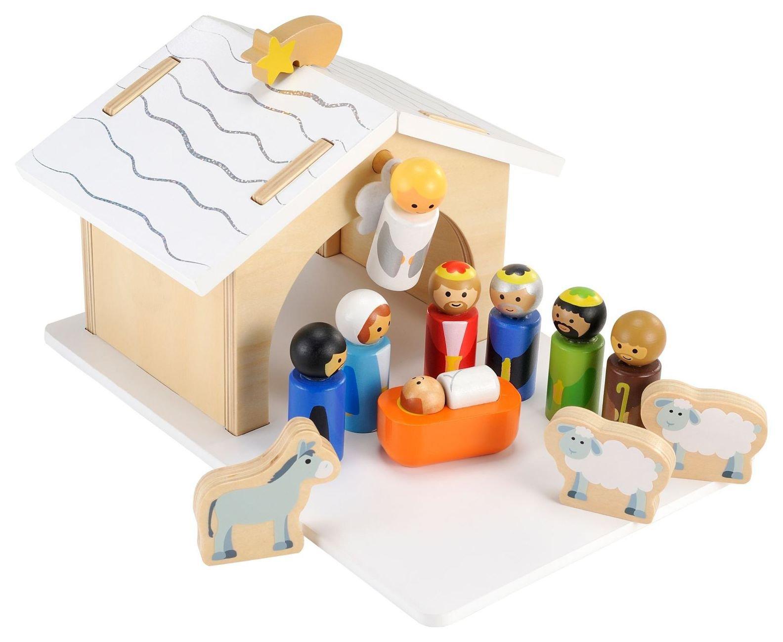 wooden nativity set6148100 - Wooden Nativity Set