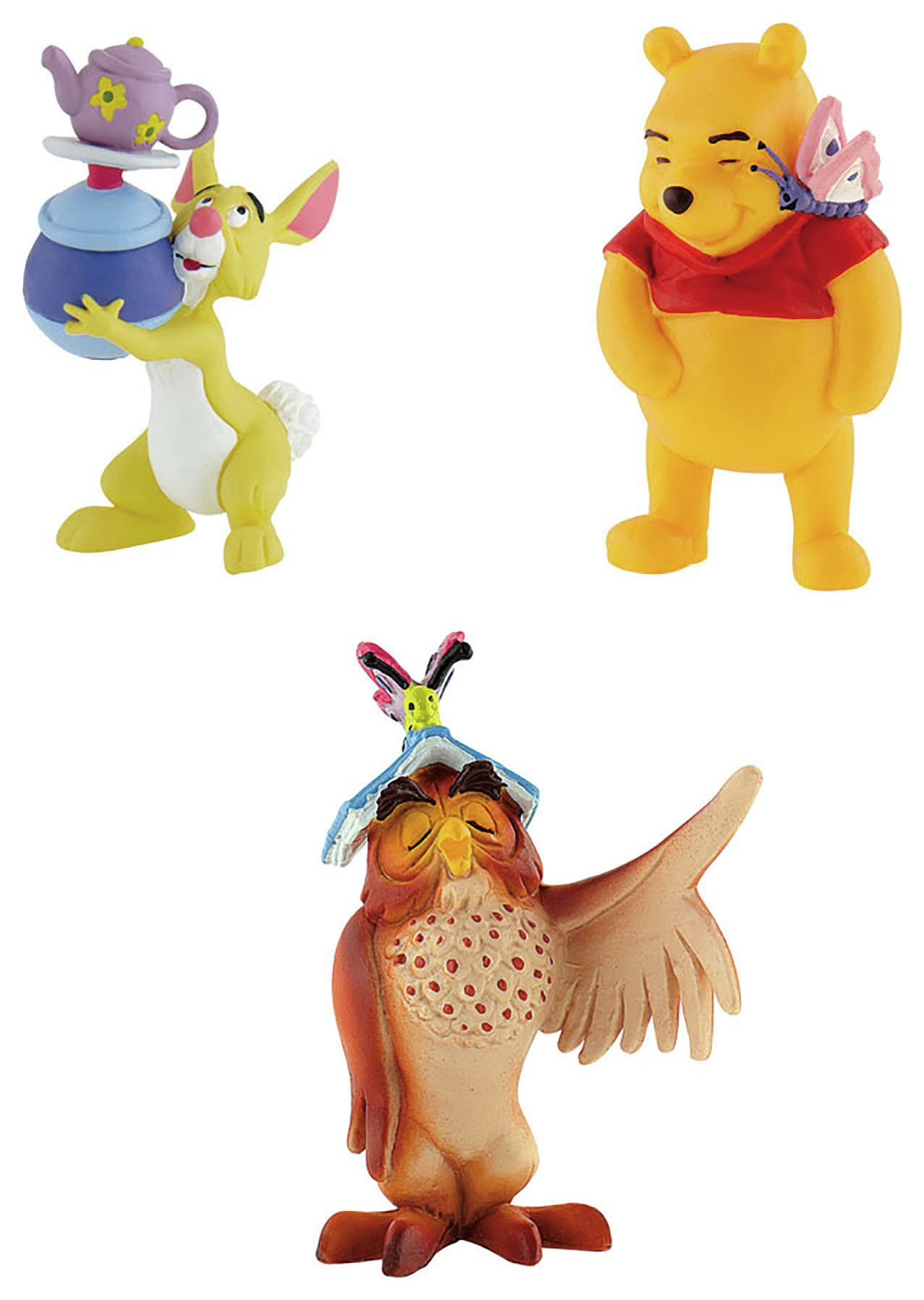 Image of Winnie the Pooh - Characters - Pack of 3.