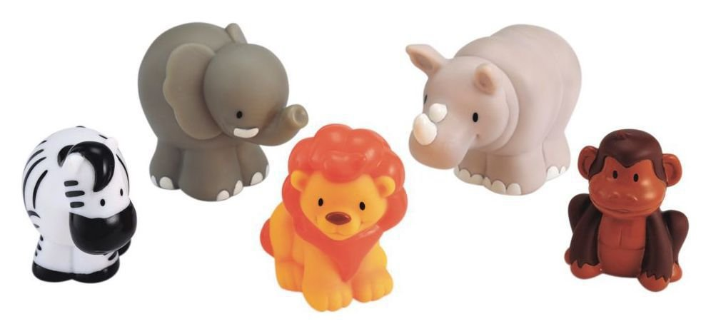 Early Learning Centre - Happyland Happy Wild Animals Figures
