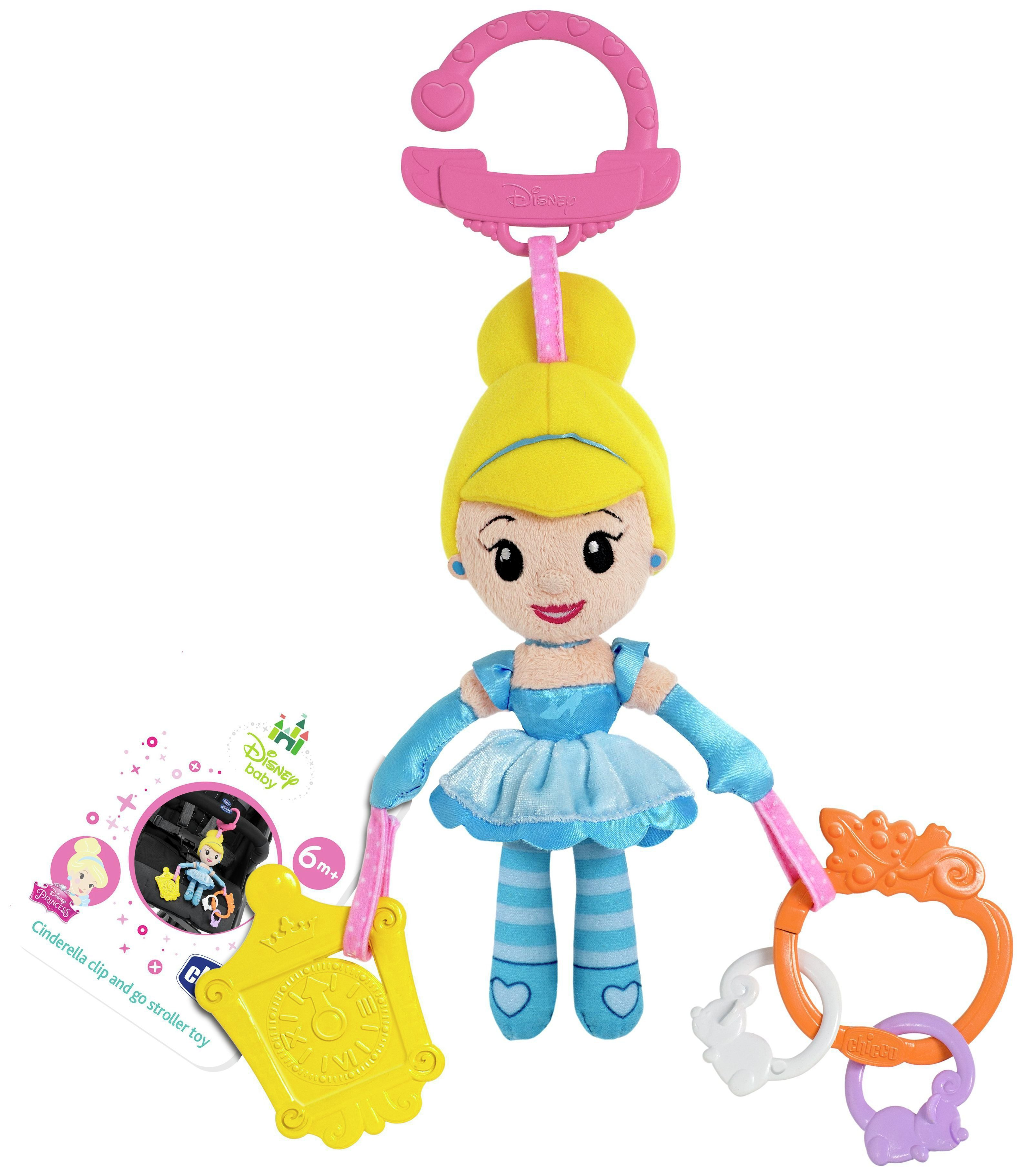 Image of Chicco - Cinderella Stroller Doll