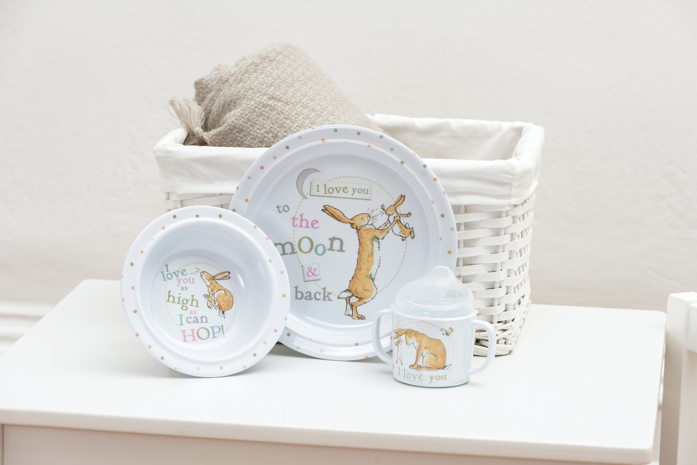 Image of Guess How Much I Love You 3 Piece Breakfast Set