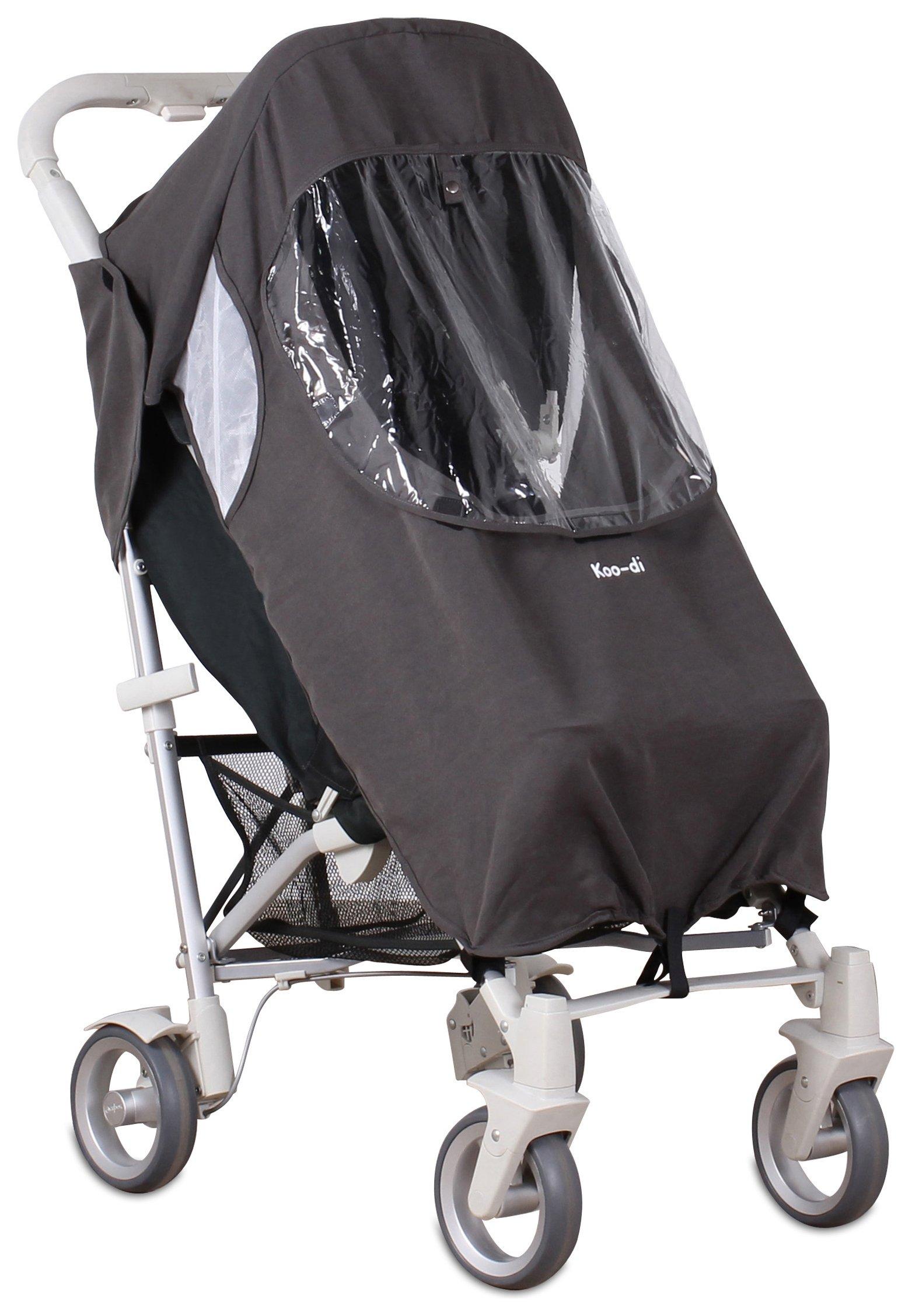 Koo-di Pack-It Universal Pushchair Raincover - Grey.