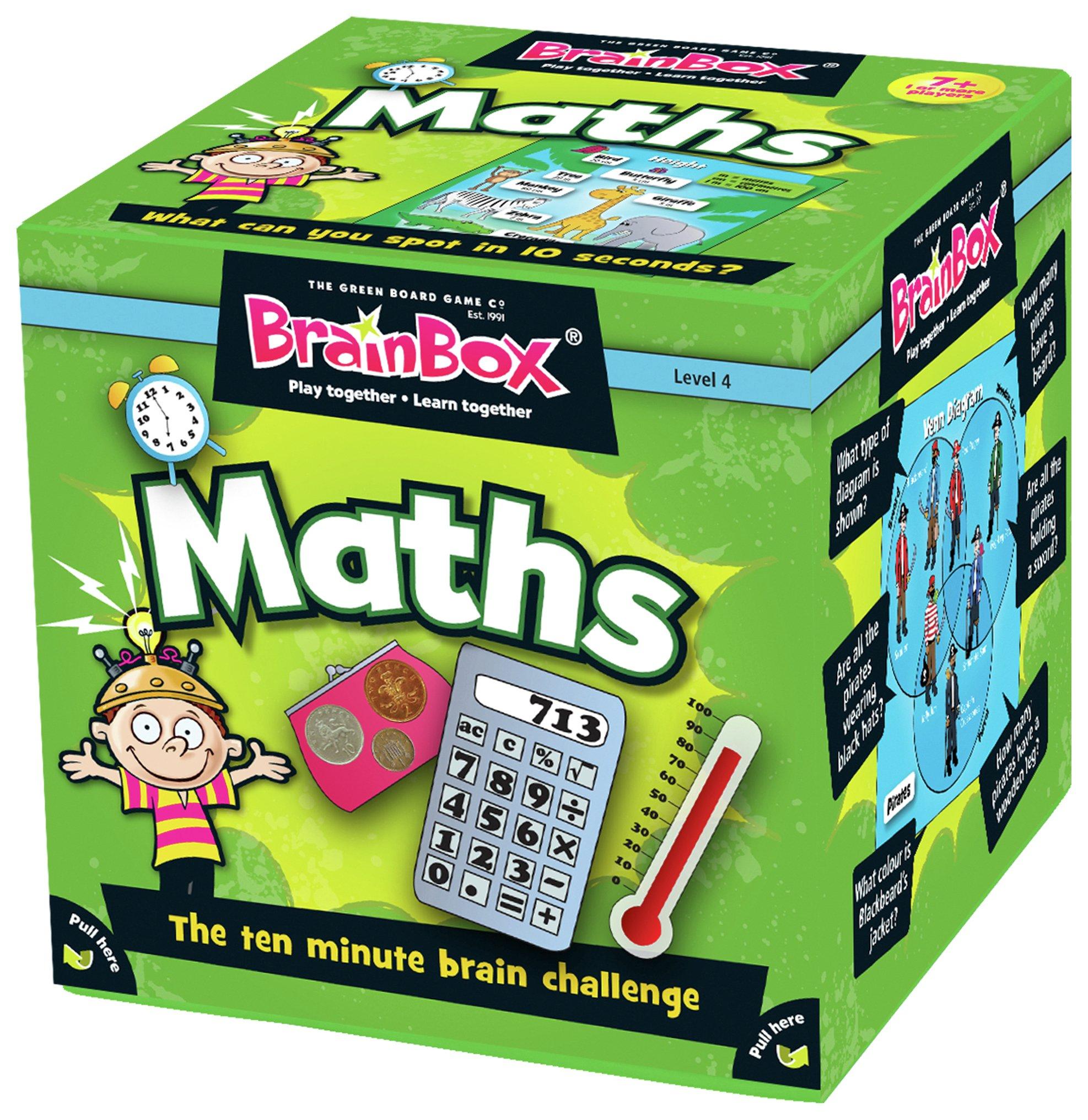 Image of Green Board Games BrainBox Maths