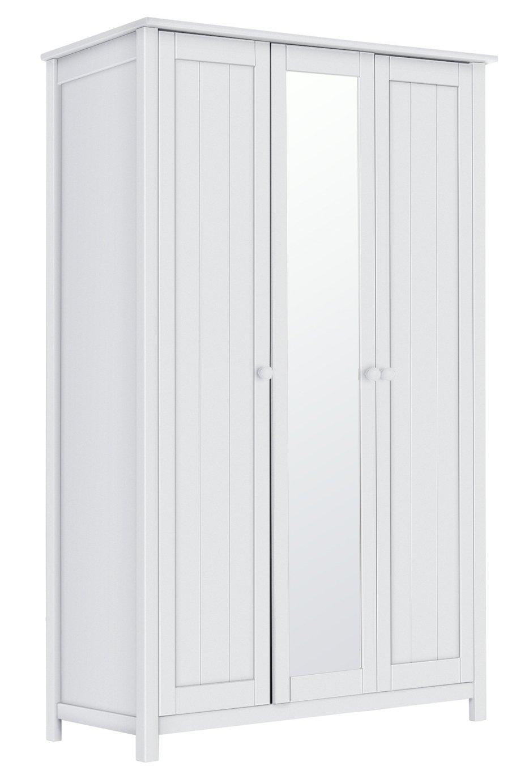 bdf7c52fb01 Argos Home New Scandinavia 3 Door Mirrored Wardrobe - White