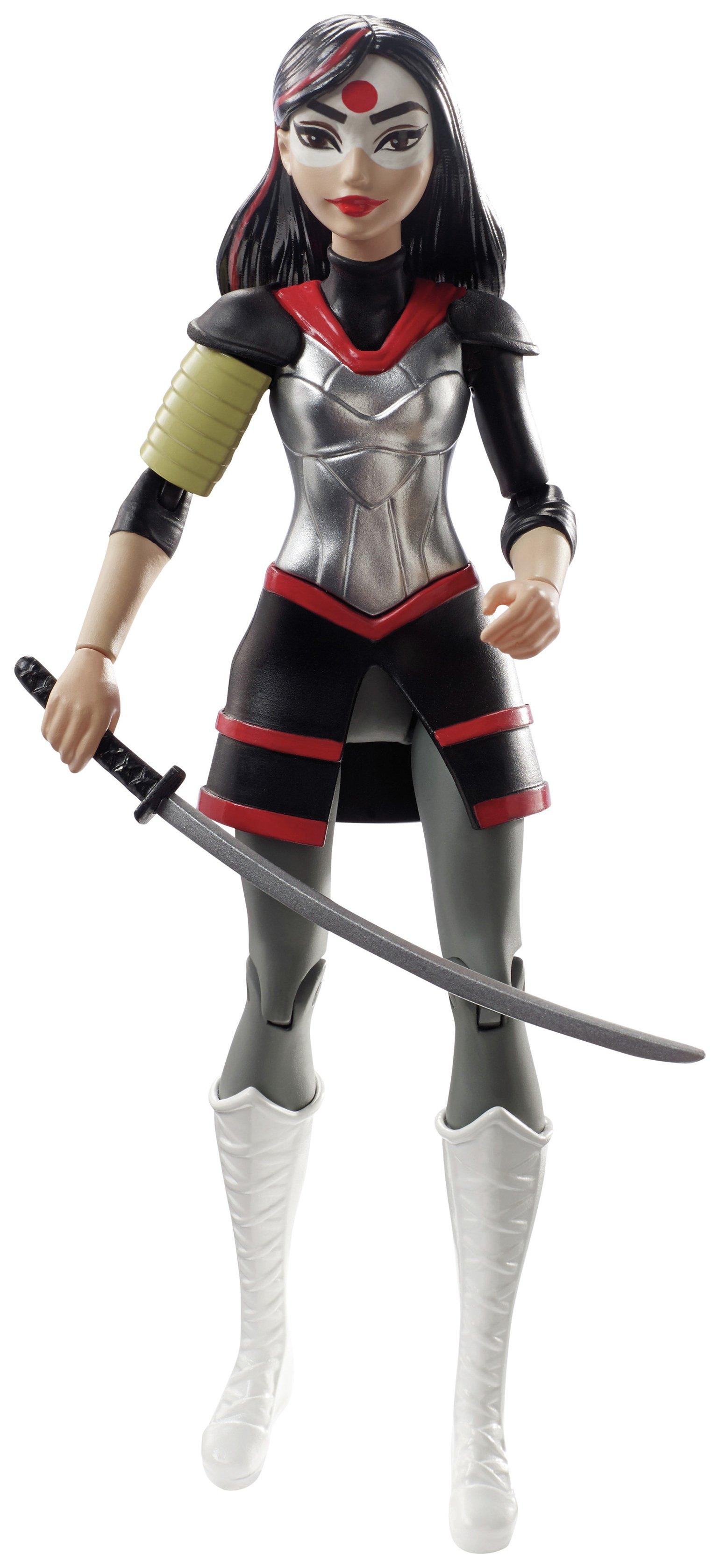 Image of DC Super Hero Girls Katana Action Figure Doll