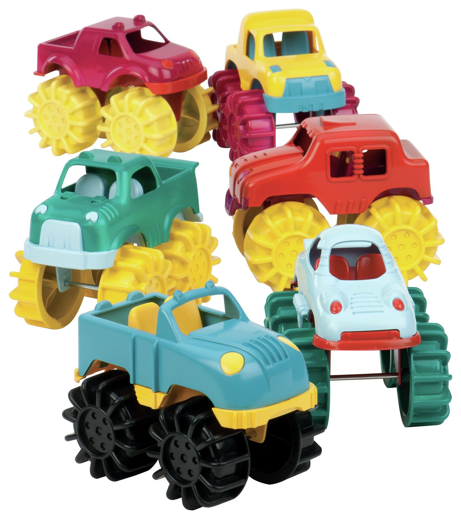 Image of Battat - Mini Monster Trucks.