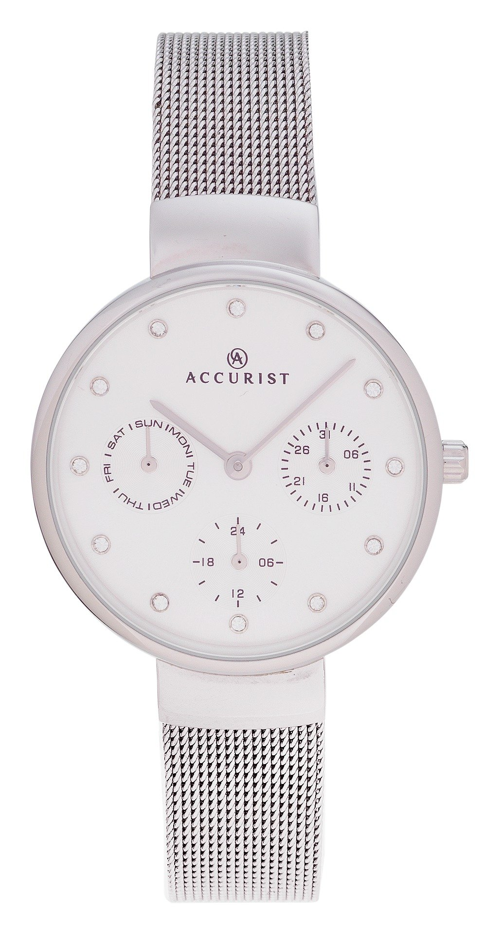 Image of Accurist Ladies' Stainless Steel Milanese Watch
