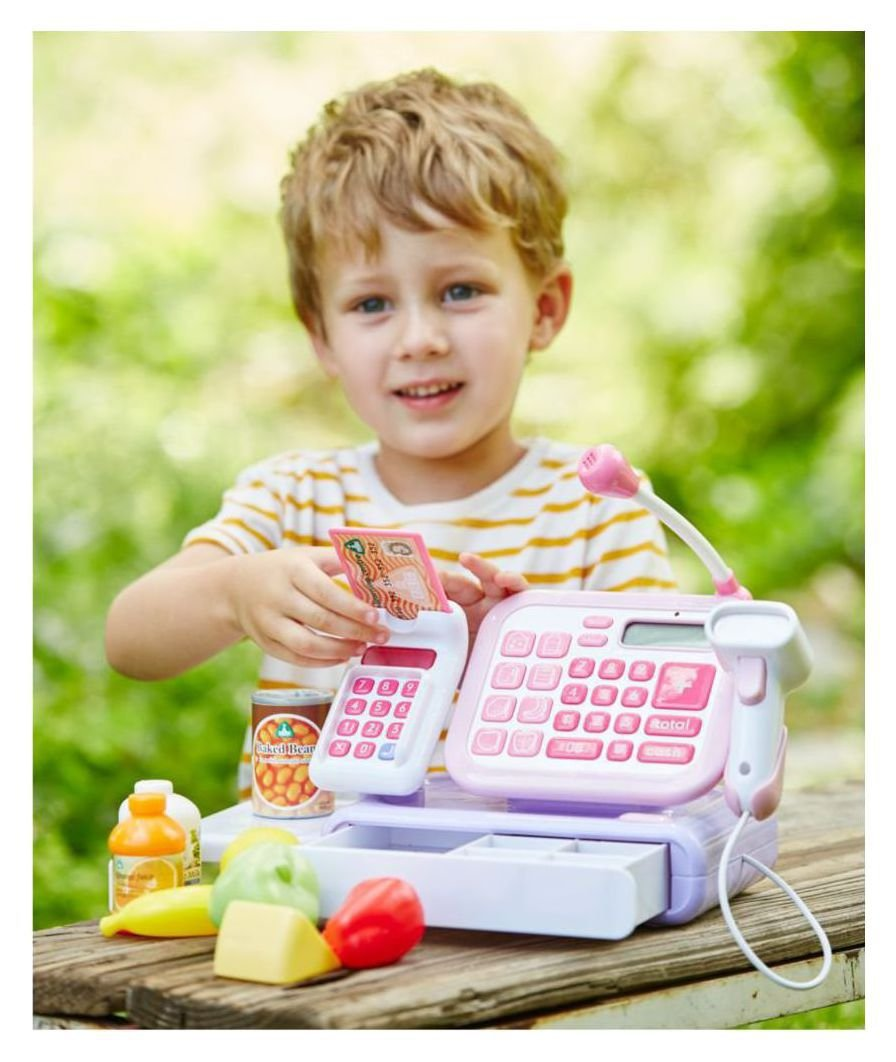 Image of Early Learning Centre Cash Register - Pink/Purple