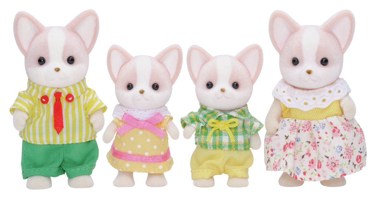 Image of Sylvanian Families Chihuahua Dog Family.
