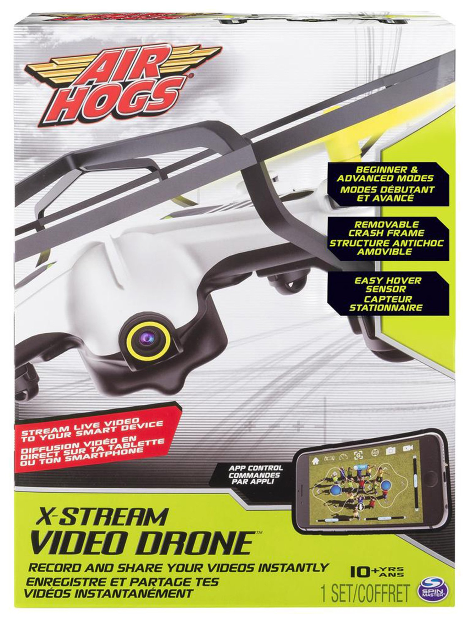 Image of Air Hogs RC X Stream Video Drone