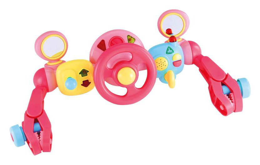 Early Learning Centre - Light and Sound Buggy Driver - Pink