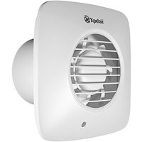 Xpelair DX100 Simply Silent Timer Delay Bathroom Fan