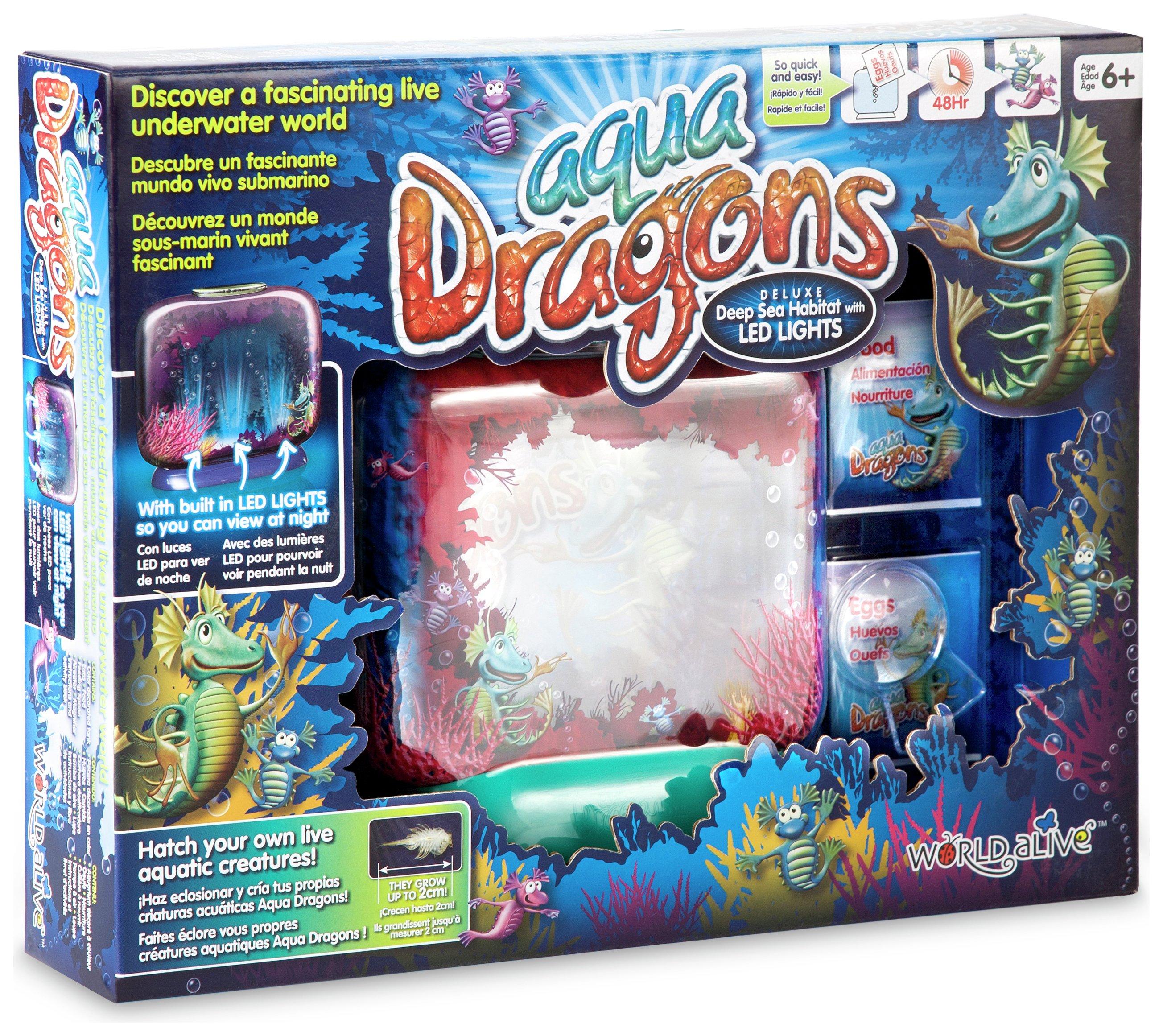 Image of Aqua Dragons Deluxe Playset.