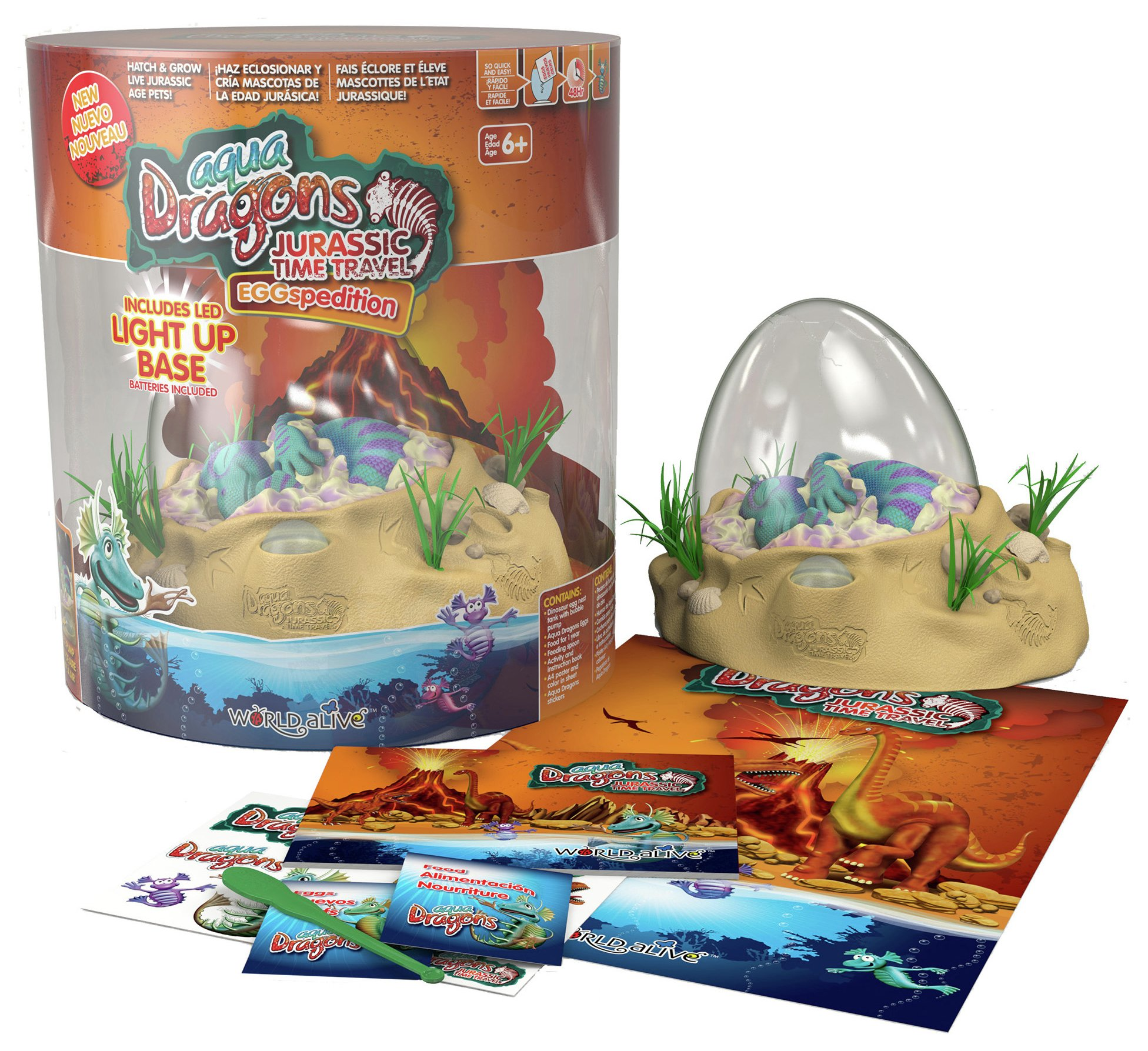 Image of Aqua Dragons Jurassic eGGspedition.