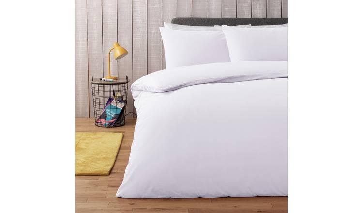 39ba70d70c9 Buy Argos Home Super White Bedding Set - Double