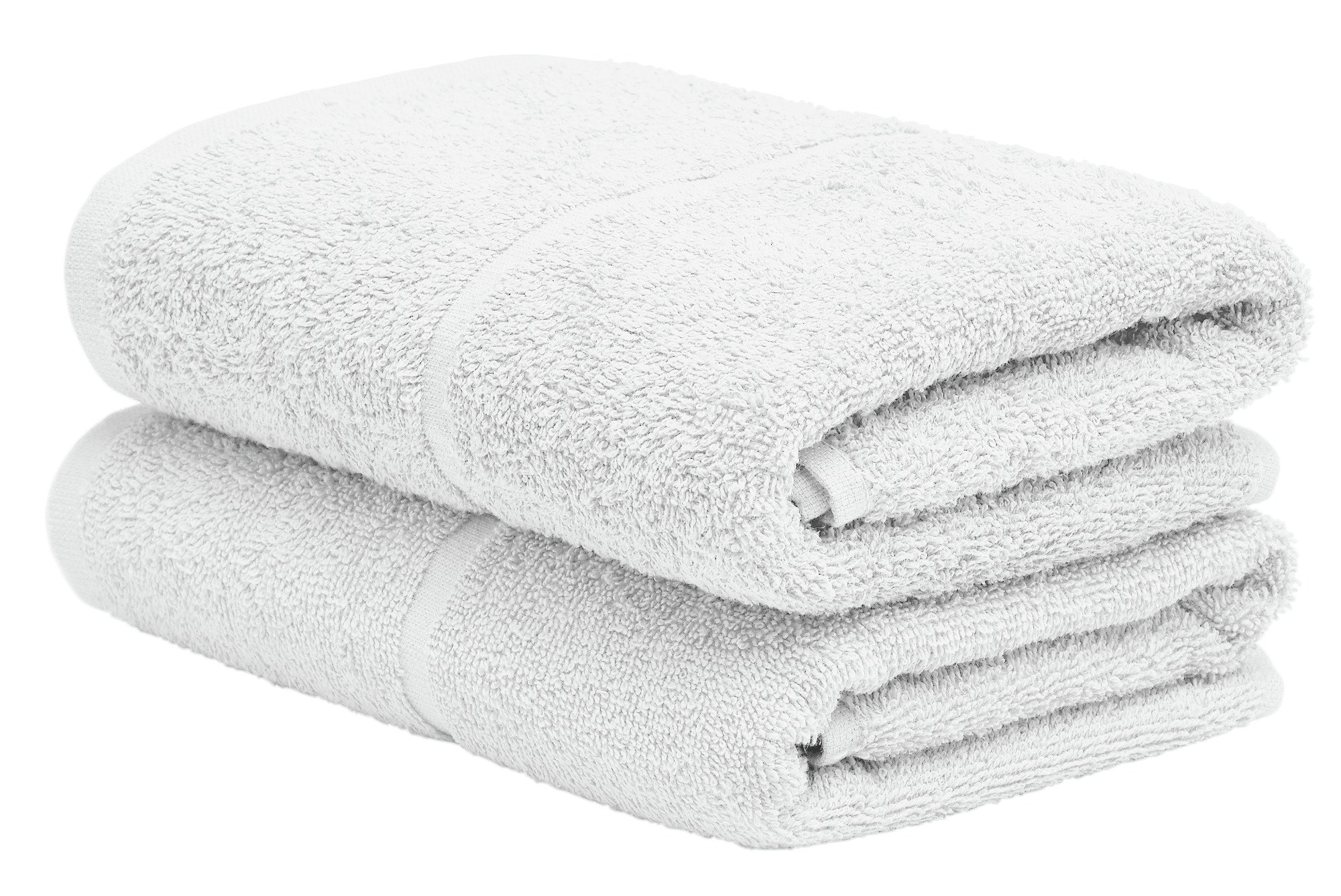 Argos Home Pair of Hand Towels - Super White