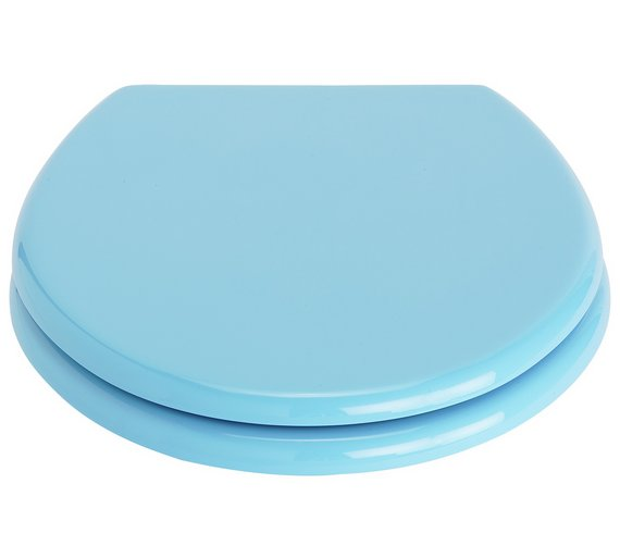 toilet seat covers uk. ColourMatch Toilet Seat  Crystal Blue Buy at Argos co uk Your