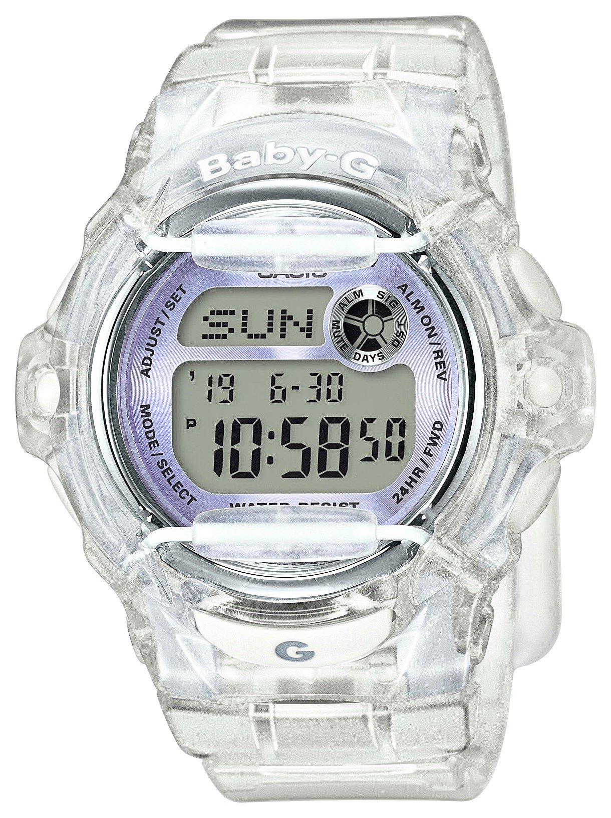Image of Casio - Baby-G Clear Lilac Strap - Watch