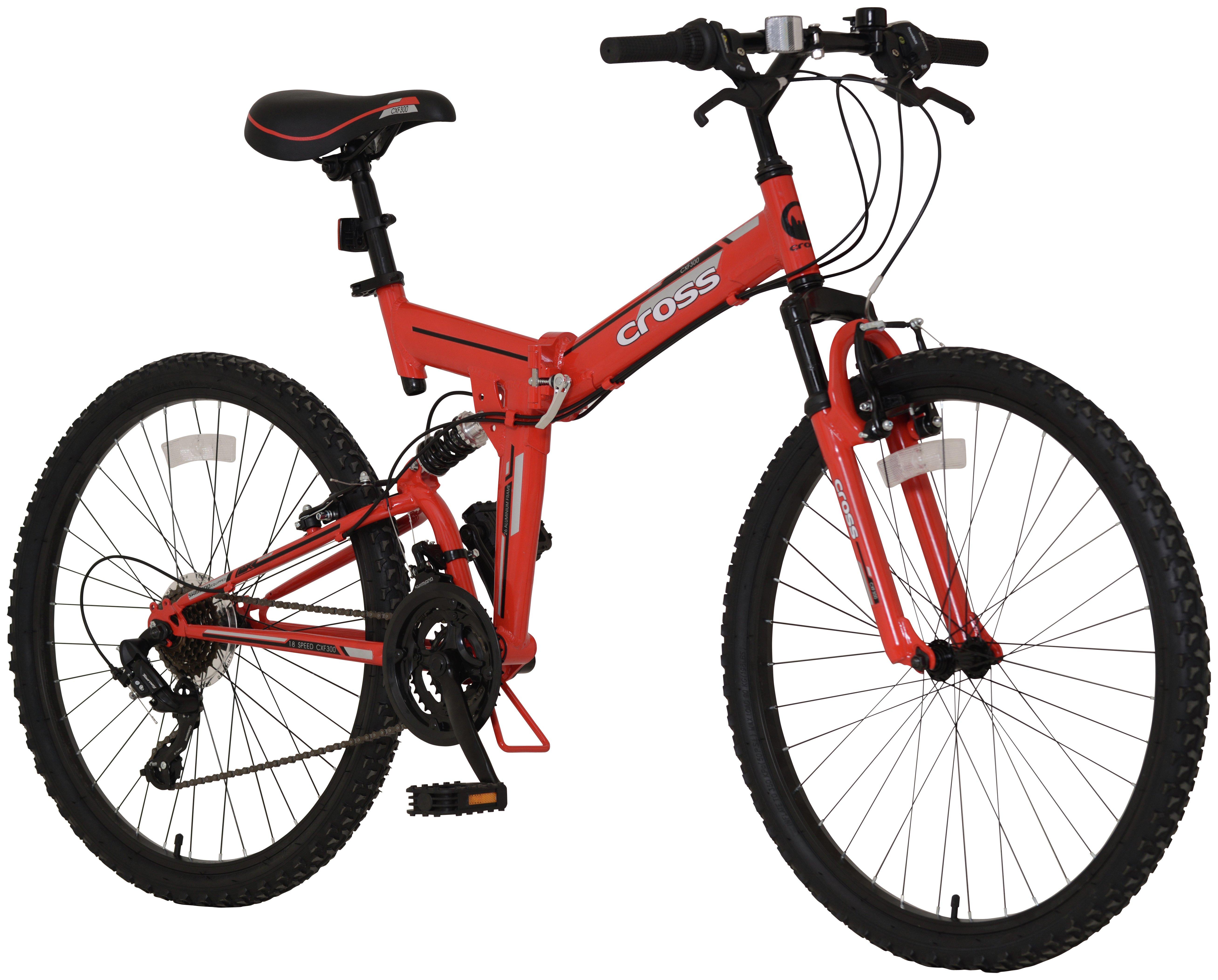 Image of Cross CXF300 Folding 26in Bike