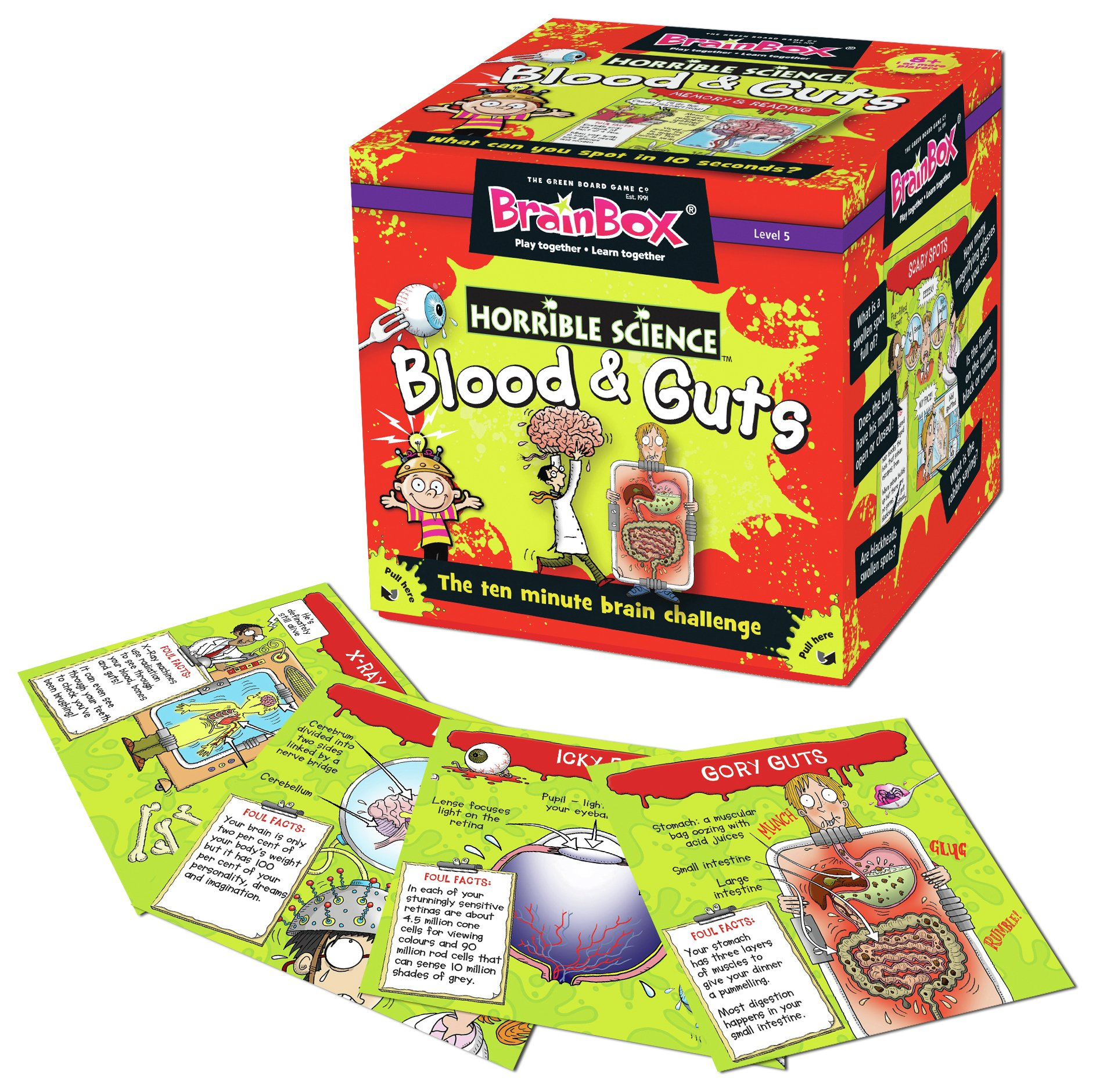 Image of BrainBox Blood and Guts Game.