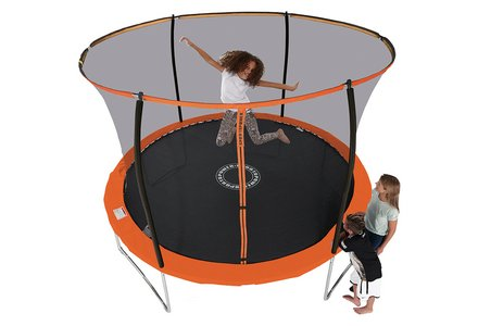 Sportspower 10ft Trampoline With Folding Enclosure.