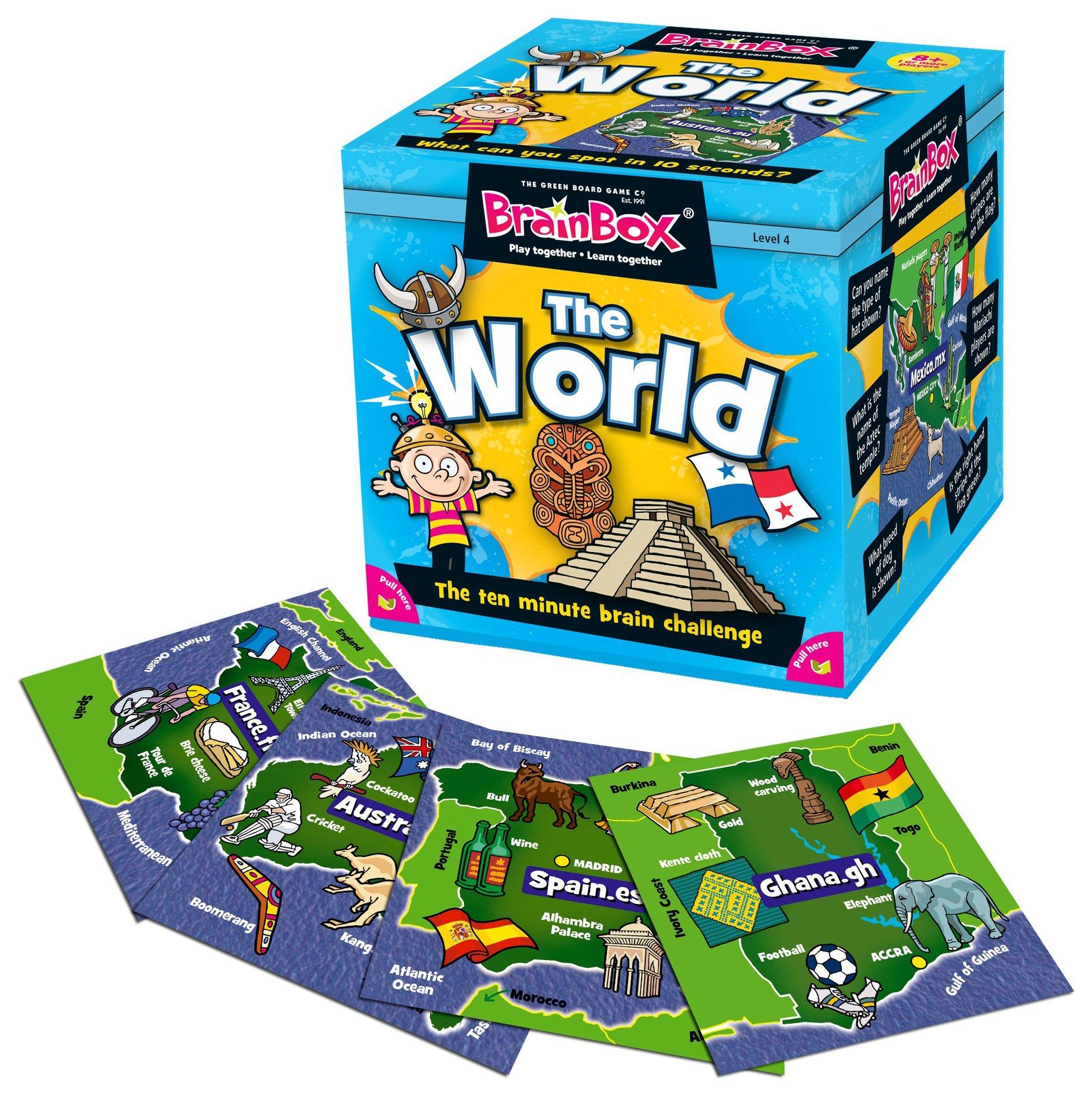 Brainbox World Quiz Game.