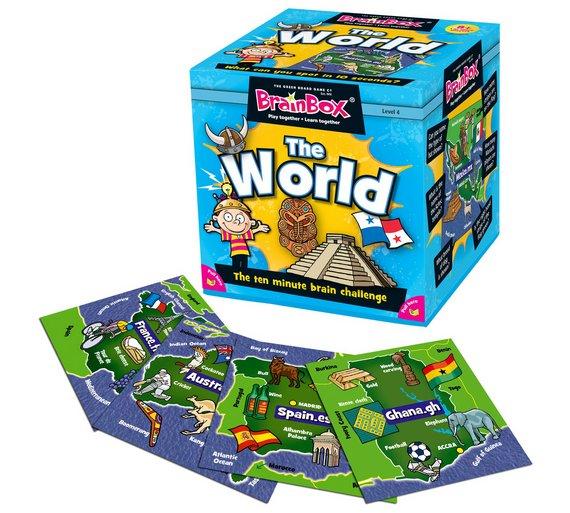 Buy Brainbox World Quiz Game At Argoscouk Your Online Shop For - World quiz game