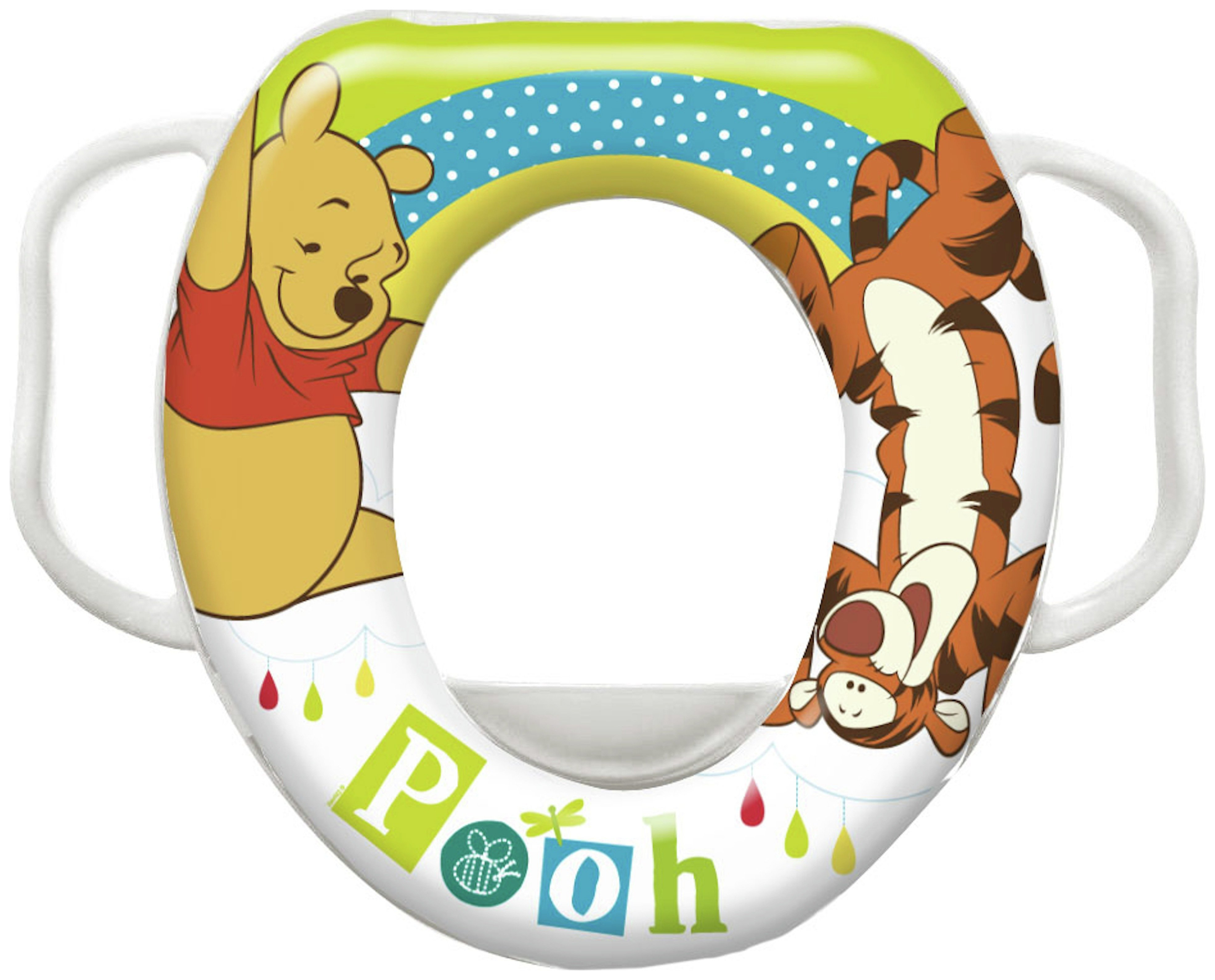 Disney Winnie the Pooh Soft Padded Toilet Seat