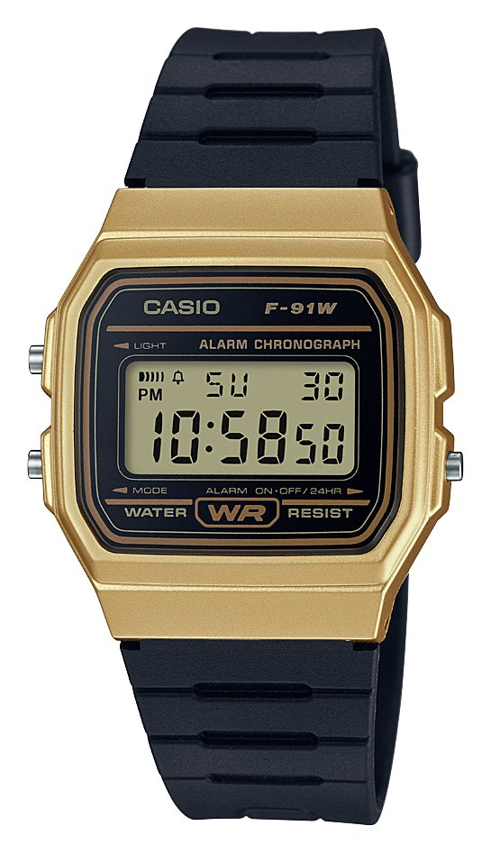 Image of Casio - Digital - Watch With Black Resin Strap
