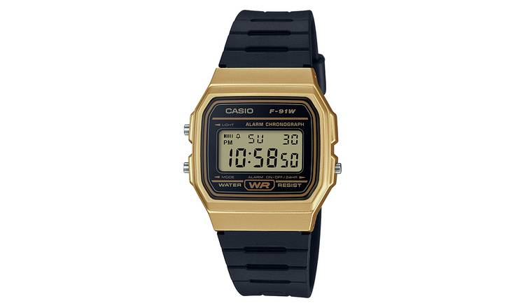 4b8453dba47b Buy Casio Men s Black Resin Strap Digital Watch