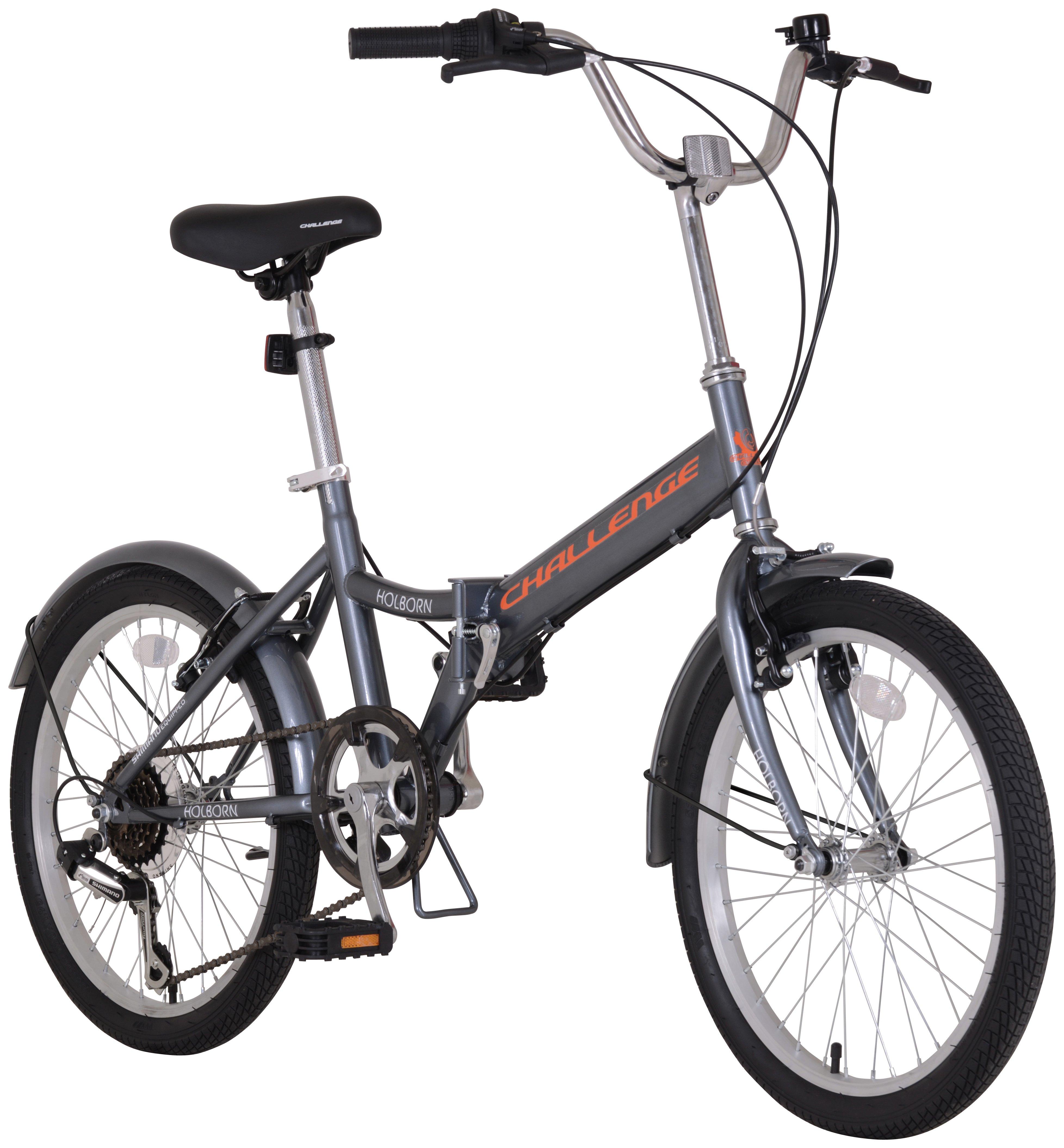 Challenge FOLD20M1 20 inch Mens Folding Bike review