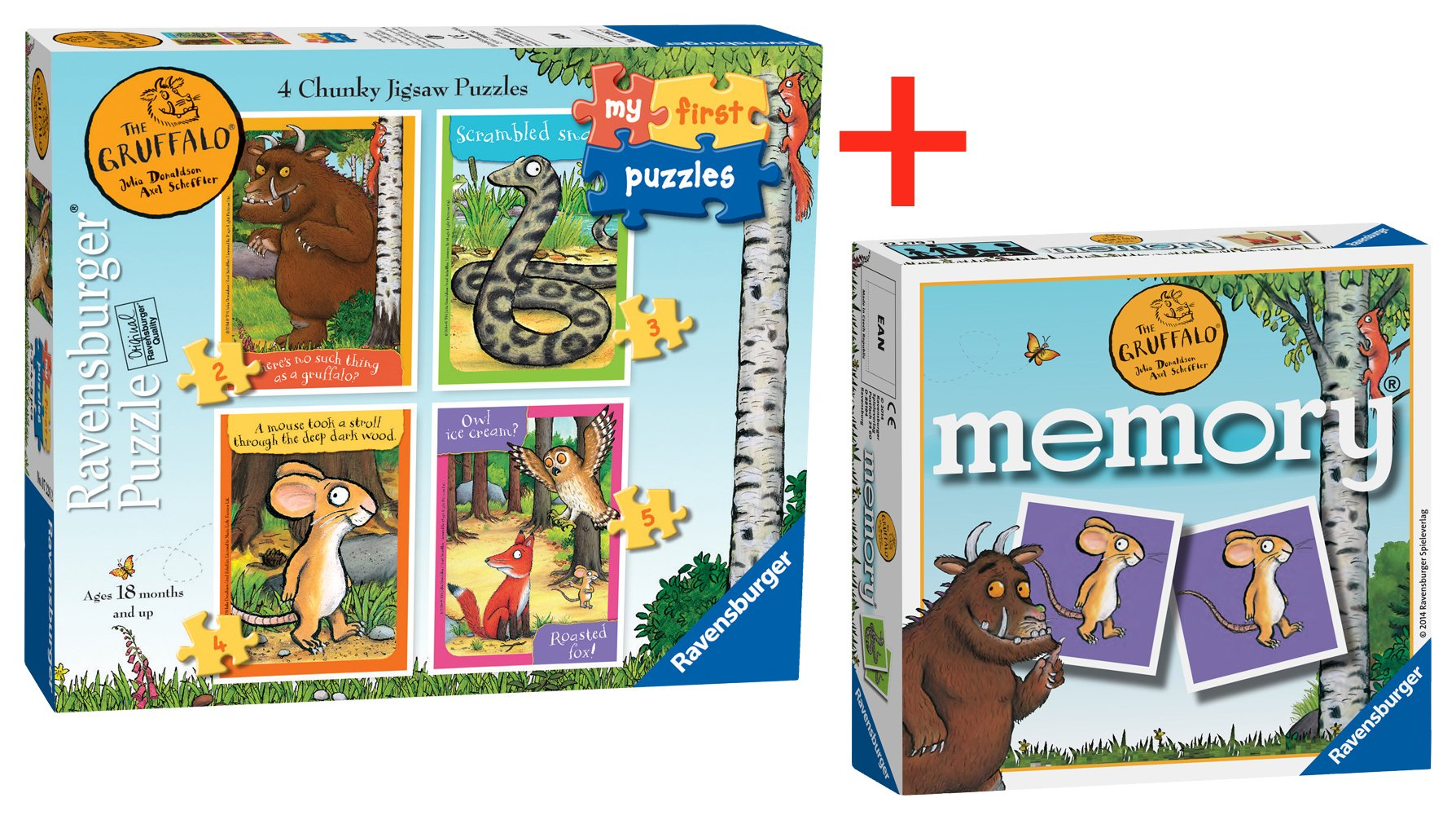 Ravensburger The Gruffalo My First Puzzle & Mini memory review