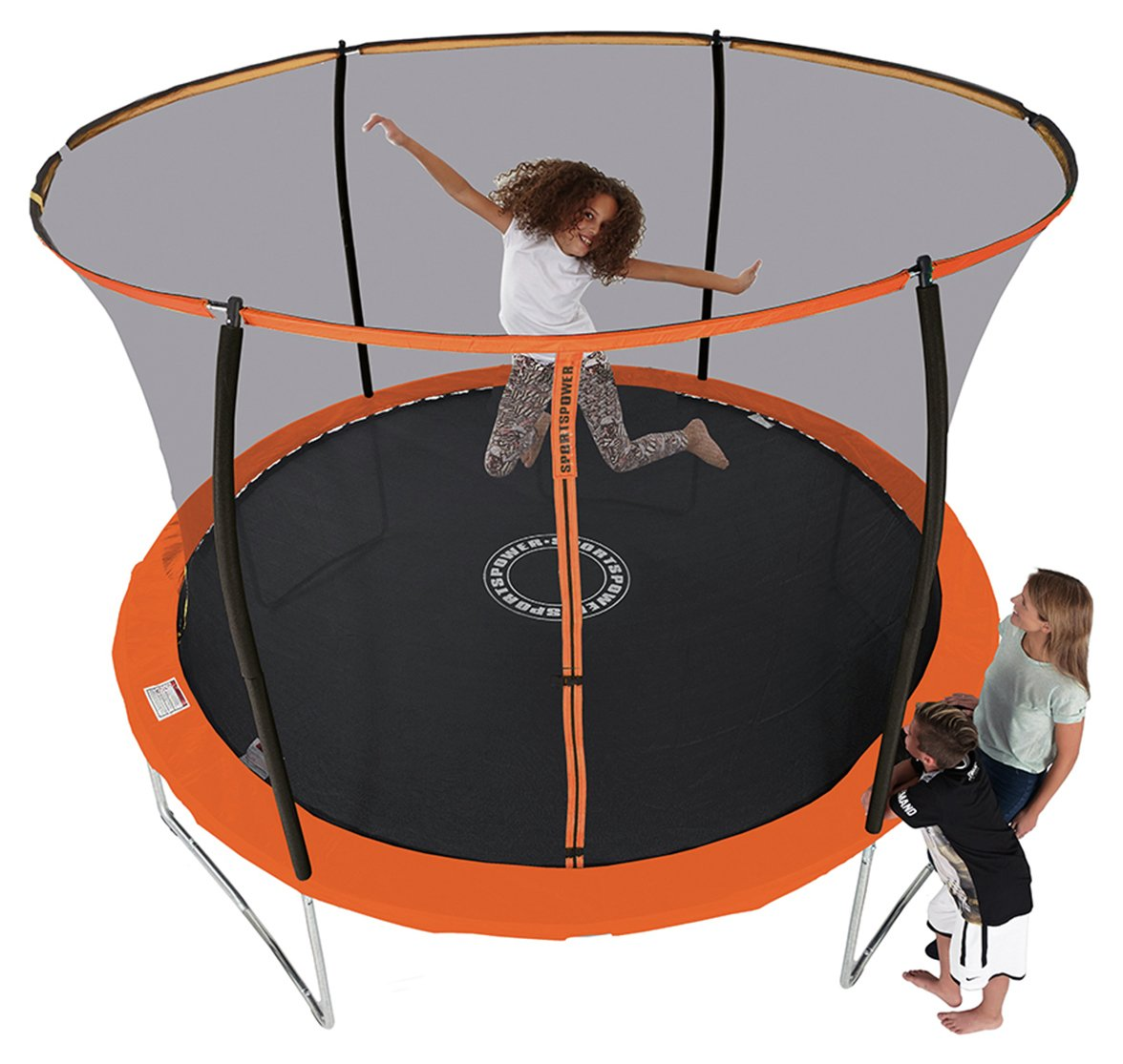 Sportspower 8ft Trampoline With Folding Enclosure. Review
