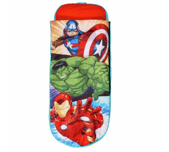 Marvel Avengers Junior ReadyBed Kids Airbed And Sleeping Bag