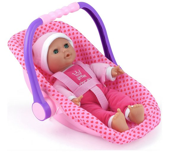 Buy Dollsworld Isabella Doll Rock Car Seat