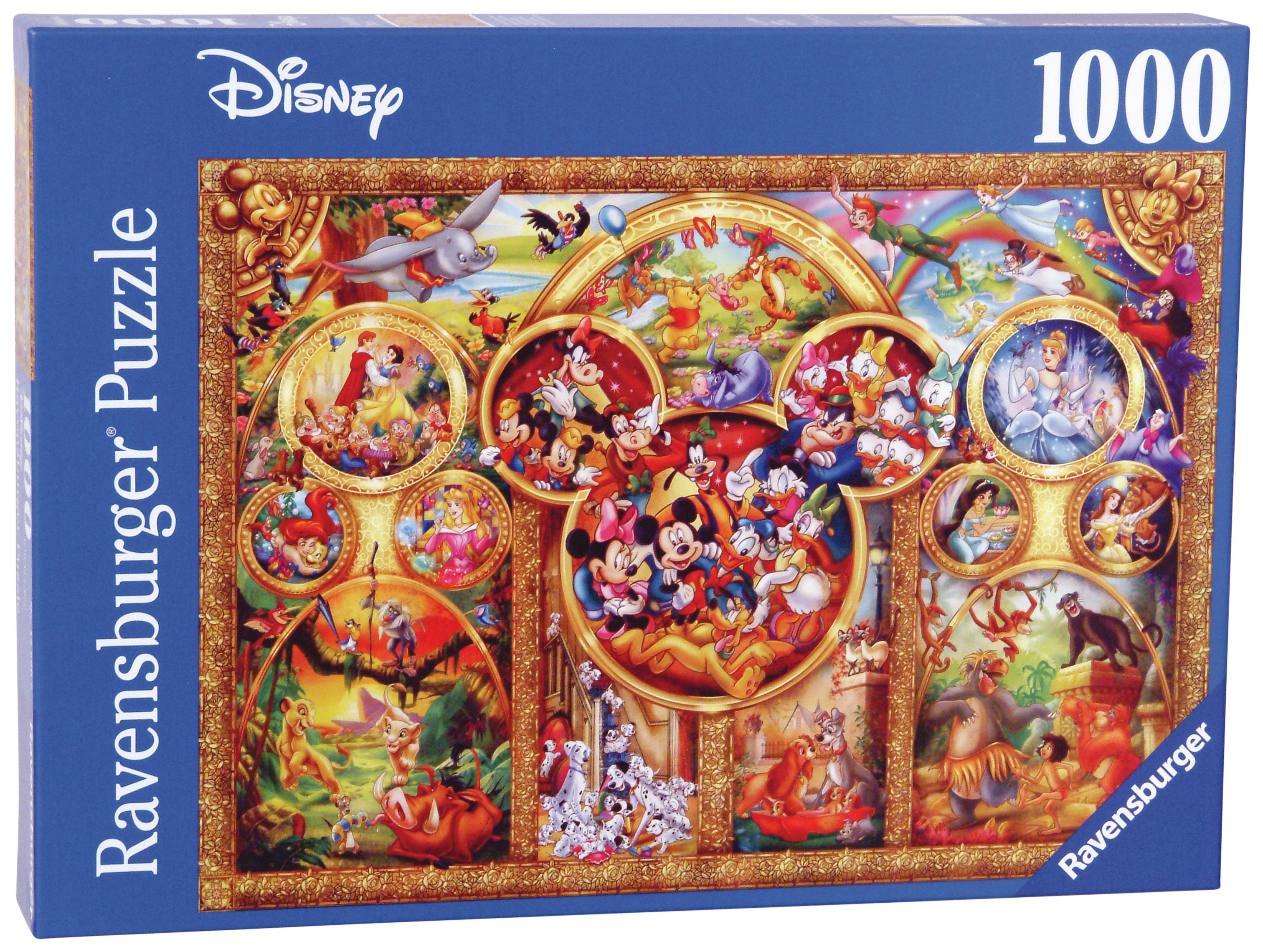 The Best of Disney Themes 1000 Piece Puzzle. review