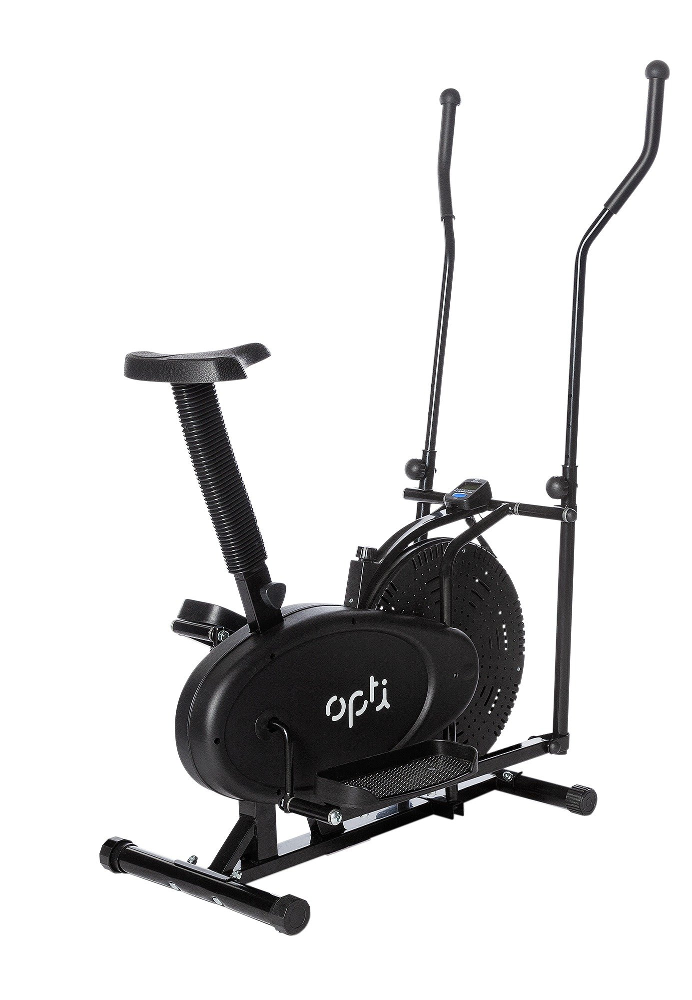 Opti 2 in 1 Cross Trainer and Exercise Bike lowest price