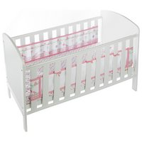 BreathableBaby - Liner for Solid End - Cot - English Garden