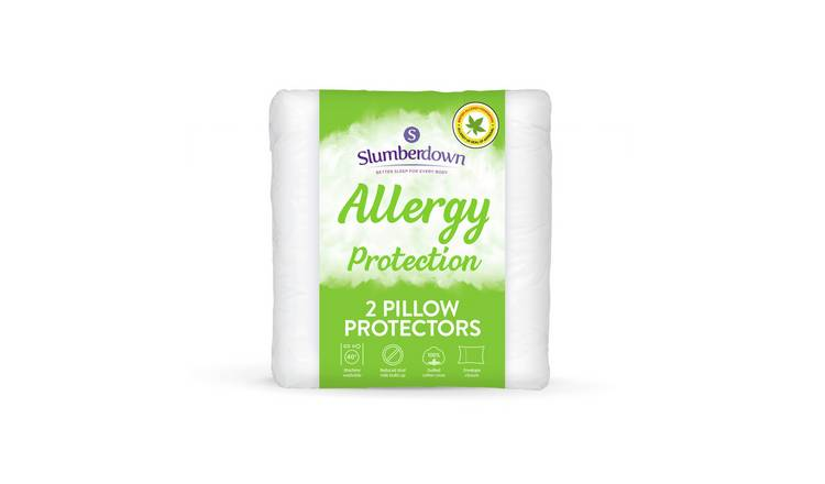 Slumberdown Allergy Protection Pillow Protector Pair