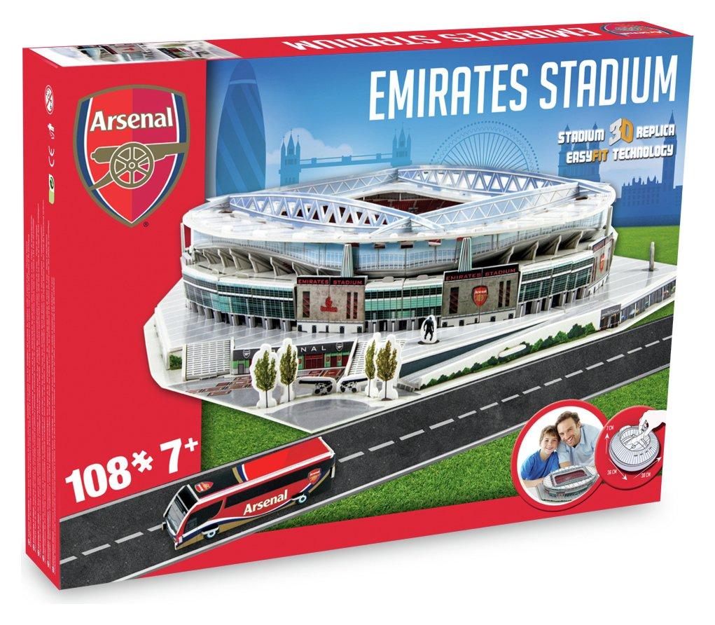 3D Stadium Puzzle Arsenal review