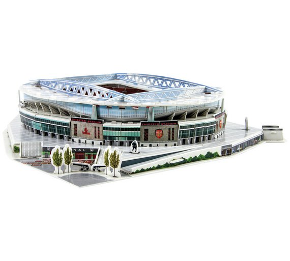 buy 3d stadium puzzle arsenal at your online shop for puzzles and jigsaws board. Black Bedroom Furniture Sets. Home Design Ideas