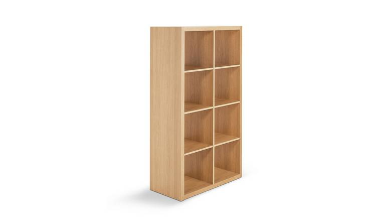 Habitat Squares Plus 8 Cube Storage Unit - Oak Effect