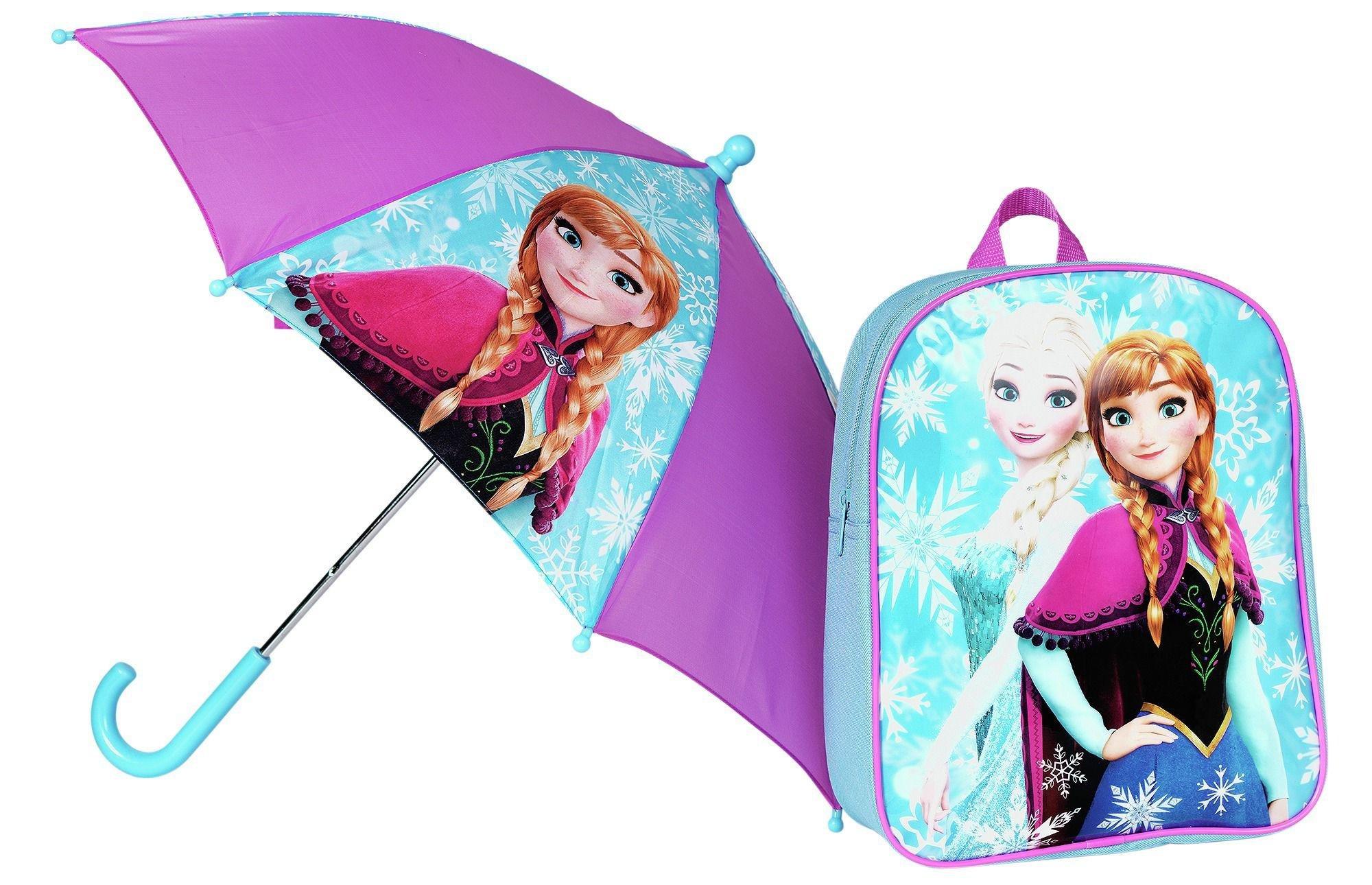 Image of Disney Frozen Backpack and Umbrella Set