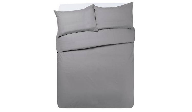 Buy Argos Home Flint Grey Bedding Set Double Duvet Cover Sets