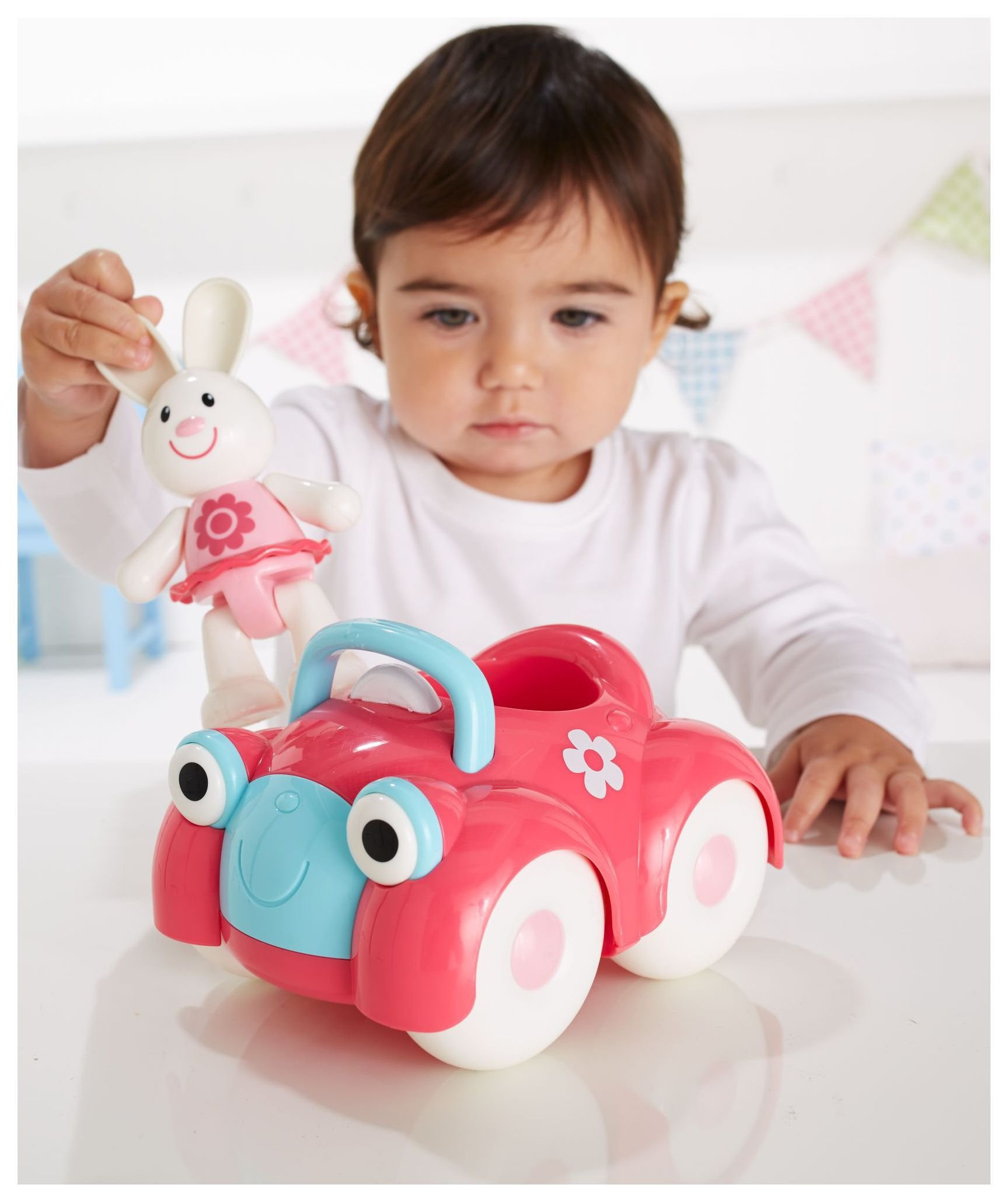 Image of Early Learning Centre - Rosie Rabbit and Car