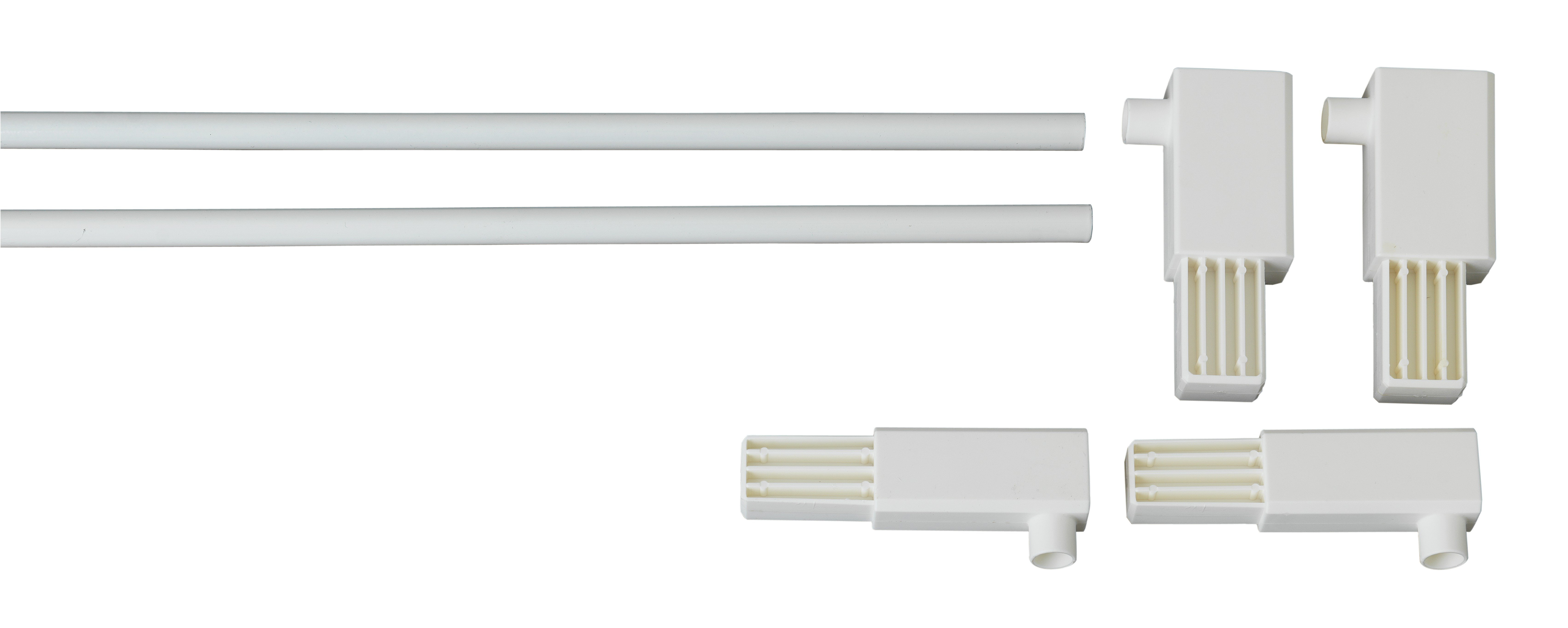 Extra Tall Pressure Extension Gate Pack White