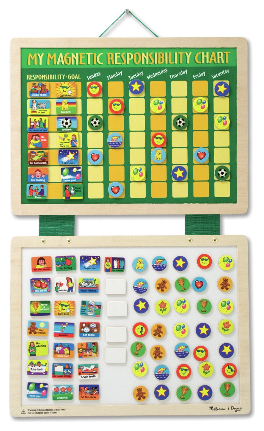 Melissa and Doug My Magnetic Responsibility Chart.