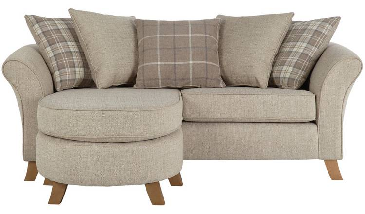 Swell Buy Argos Home Kayla 3 Seater Scatter Back Chaise Beige Sofas Argos Pdpeps Interior Chair Design Pdpepsorg