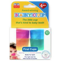 Babycup Baby and Toddler First Cup - 4-Pack Multicoloured