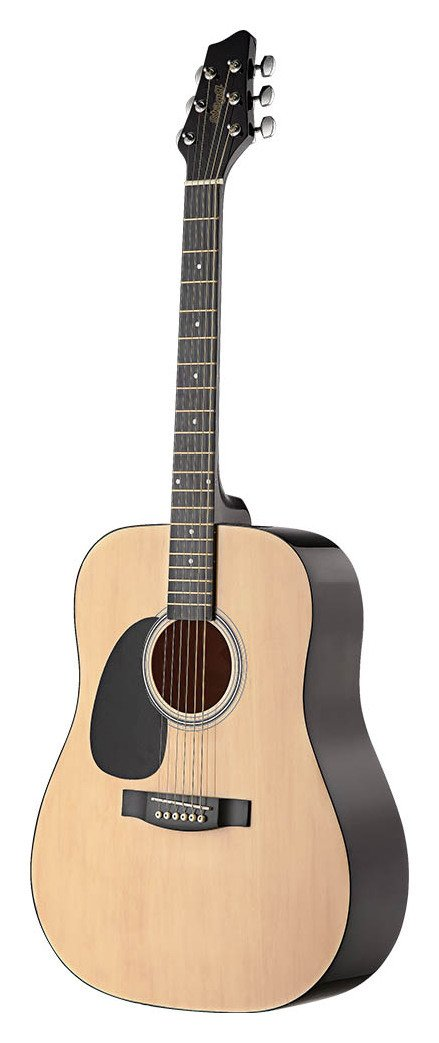Stagg Lefthanded Acoustic Guitar - Natural. lowest price